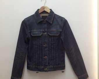 K.T. Kiyoko Takase Womens Selvedge Denim Jacket Size 3