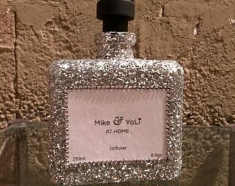 Reed Diffusers | Glitter Silver 8.5 oz.