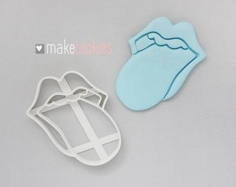 The Rolling Stones Cookie Cutter