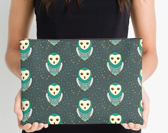 Owl Nappy Pouch, Nappy Pouch, Nappy Wallet, Diaper Case, Toiletry Bag, Nappy Clutch, Baby Change Wallet, Nappy Bag, Studio Pouch