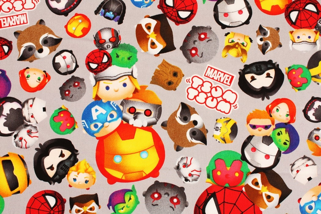 It is a photo of Handy Tsum Tsum Characters Names