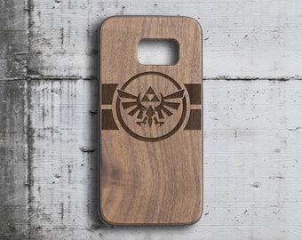 legend of zelda Galaxy S7 case Samsung s6 case,wood triforce  s5 case  phone case  samsung galaxy S4 case  wood galaxy s7 case