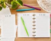 TO DO List Happy Planner Mini, Mini Happy Planner Inserts, Create 365 Planner, Happy Planner Mini Pages, Small Happy Planner Refill, MAMBI