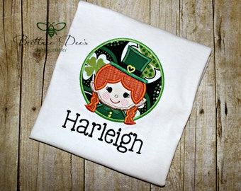 Girl Leprechaun Shirt
