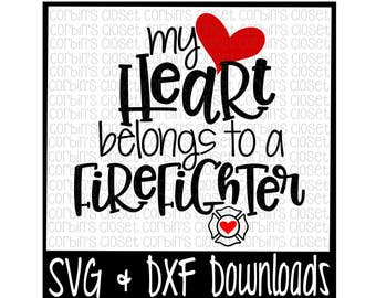 Download Firefighter Wife SVG Thin red line Make a Decal Cut File