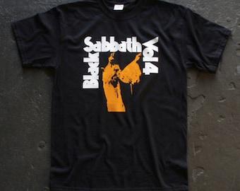Black Sabbath t-shirt rock classic vintage style Vol. 4 mens ladies kids