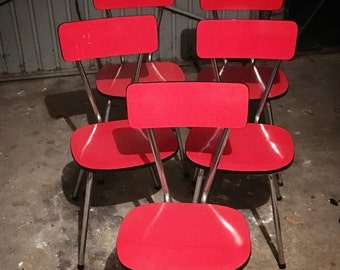 Table and chairs Vintage Formica