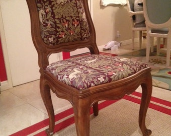High Quality Vintage Tapestry Chair