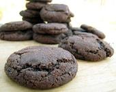 Chocolate Snickerdoodle Cookies, 1 1/2 Dozen, Homemade Cookies
