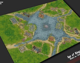 Battle mat: Age of Kings - terrain for scale model historical wargames -  Warhammer, Hordes, Warmachine, De Bellis Antiquitatis, Malifaux
