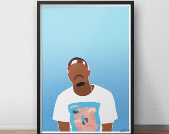 Frank Ocean INSPIRED Print / Poster