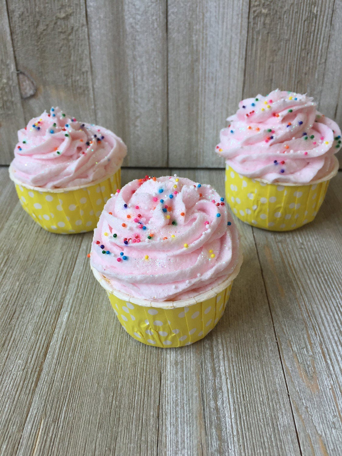 Bath Bomb Cupcake Birthday Bath Bomb Whipped Soap Frosting