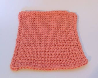 Crochet dishcloths, handmade washcloths, cotton dishcloths, dish scrubbies, mother's day gift, house warming gifts, gifts for bachelors