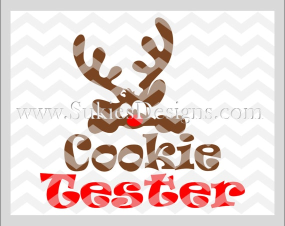 Cookie Tester Svg Dxf Png Files For Cricut And Silhouette