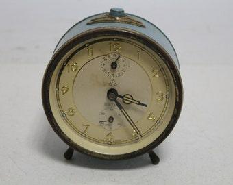 Vintage german alarm clock PETER-working