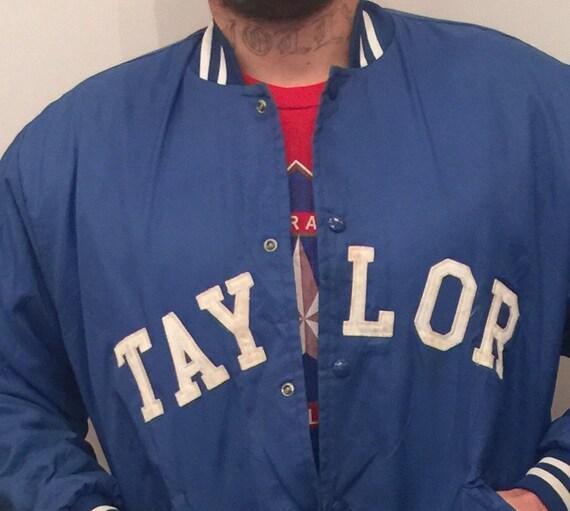 EV 105 Blue baseball jacket for men size xl