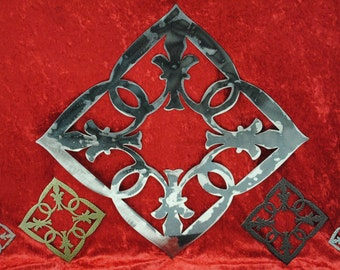 Fleur De Lis, Wall Decor, Coaster, Fleur De Lis Metal Art