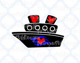 Disney Cruise Ship SVG,EPS,PNG,Studio