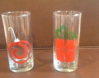 Two 16 oz. Christmas Tumblers