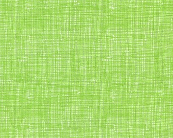 By The HALF Yard - Sketch Basic by Timeless Treasure,#FUN-C8224 Lime, Tonal Crosshatch in Green