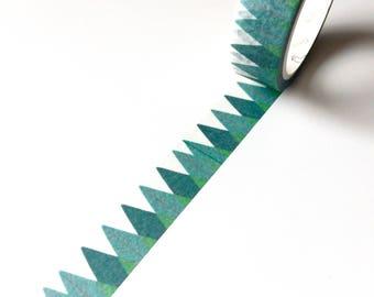 Green Forest Washi Tape - Scandi Trees Masking