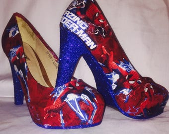 Spiderman shoes / heels* * * uk sizes 3-8 * * *
