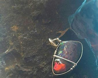 One of a kind multi colour opal 069