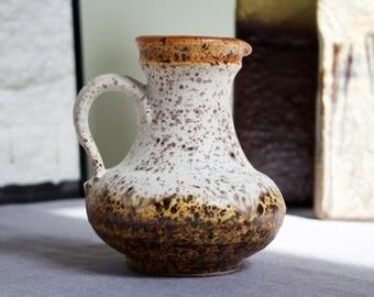 Ü-Keramik/Uebelacker: Vintage Ceramic West German Fat Lava Era Vase 1808-14 - UK seller