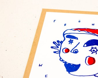 Weihnacht Elf, Christmas card, Christmas card