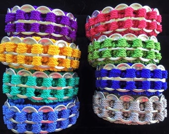 Aluminum Can Tab Bracelets/Accessories
