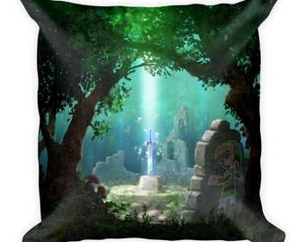 The Legend of Zelda: A Link Between Worlds Master Sword Pillow