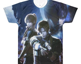 Resident Evil: The Darkside Chronicles Sublimated T-shirt