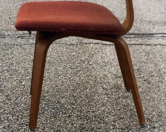 Vintage Mid Century Modern Thonet Bentwood Chair Eames DCW Style