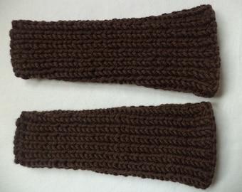 Leg warmers Overknees wool knitted Merino Wool