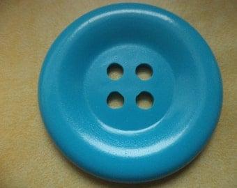 large 50mm light blue (1348) button 5cm coat buttons