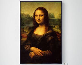 Mona Lisa, Da Vinci Mona Lisa, The Mona Lisa, Leonardo Da Vinci, Da Vinci Mona Lisa, Da Vinci Art, Da Vinci Prints, 203