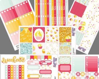 Happiest Birthday- Full Sticker Kit!