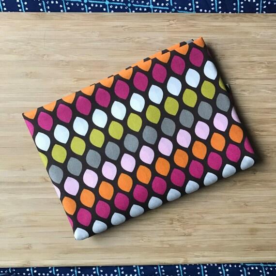 Furoshiki Gift Wrapping Cloth - Japanese Cotton Furoshiki - Retro Drops Design by Kendo Girl