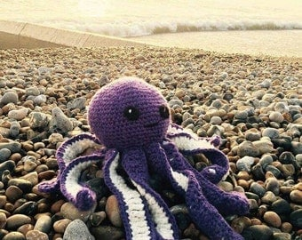 Crochet Giant Octopus. Handmade in any colour.