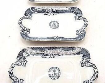 Vintage Co-Operative Wholesale Society Ltd Plates x3