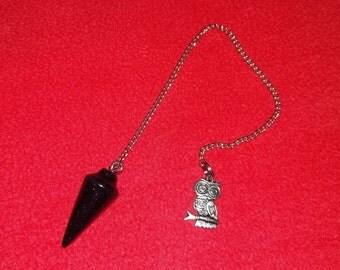 Dowsing pendulum - Black pattern