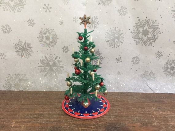 Lundby Vintage Dollhouse Miniature Artificial Christmas Tree