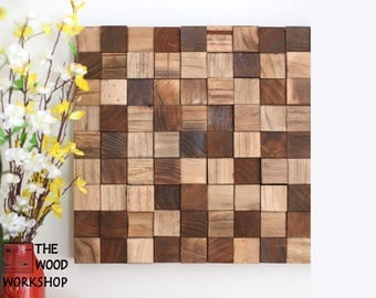 Solid Wood Block Art
