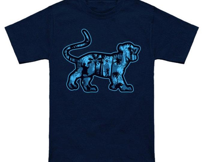 JUNGLE BEATS Disney Jungle Book Cartoon Shirt Geek T-Shirt Nerd Mowgli Baloo Bagheera Kaa King Louie Shere Kahn