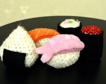 Plush/Keychain Sushi Rolls