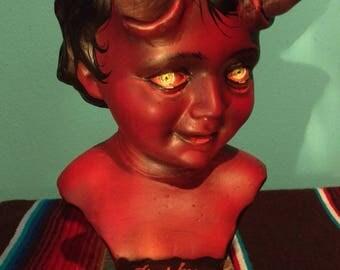 Sparky - hellboy statue satan demon