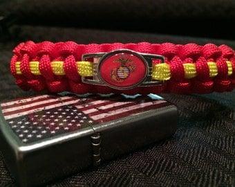 USMC Paracord Survival Bracelet