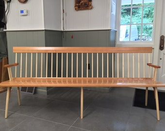Custom Spindle Back Bench