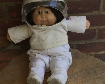 Cabbage Patch Kid Vintage Astronaut Doll , 1986 Vintage Cabbage Doll