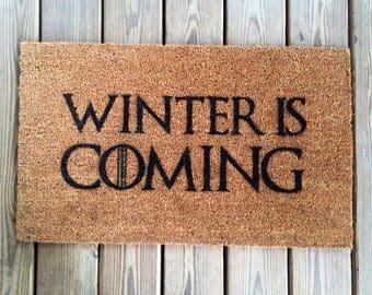 Winter Is Coming - Game of Thrones Doormat